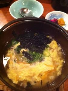 串八(六地蔵店) 野菜雑炊