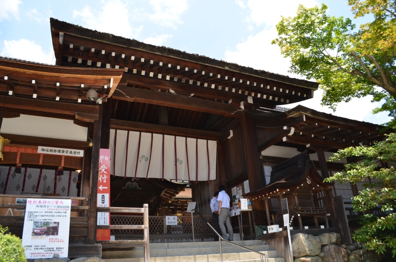 上賀茂神社(かもわけいかづちじんじゃ)