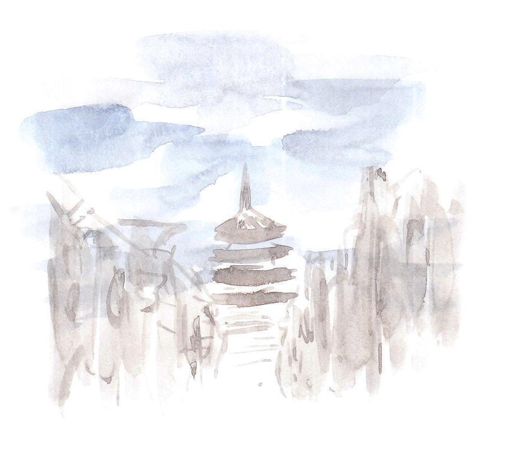 京都デザイン.com 京都観光、京都旅行にどうでしょう? 「法観寺の八坂の塔」